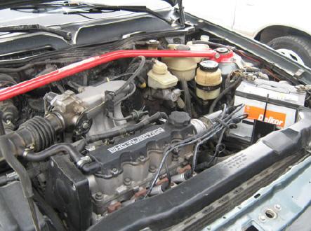 Корпус двигателя