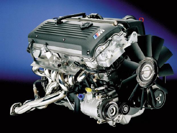 Работа бензинового двигателя