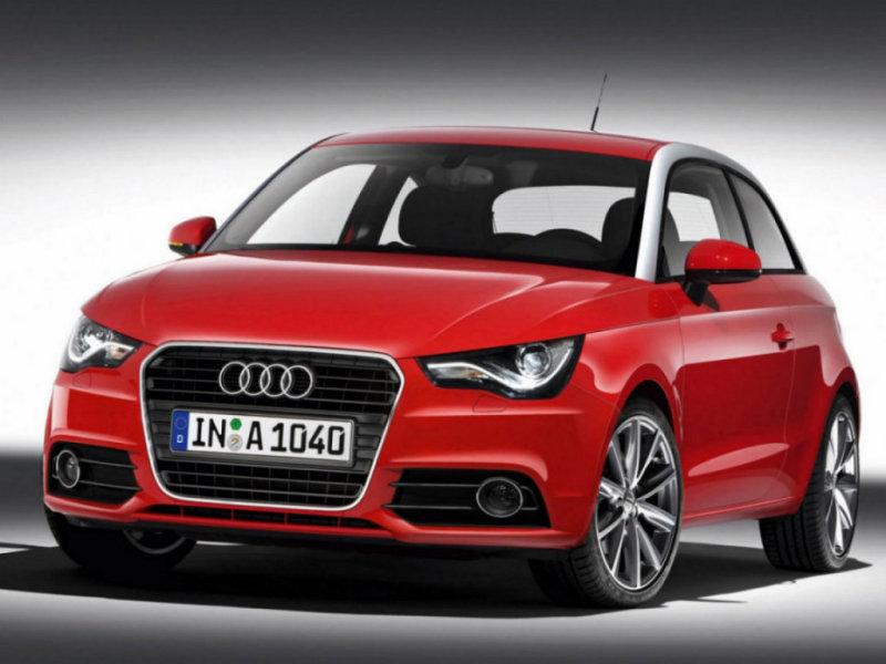 маленькая модель от Audi