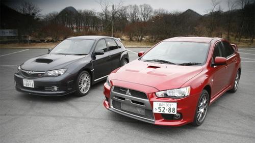 Mitsubishi и Subaru